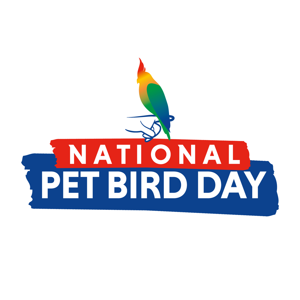 National Pet Bird Day logo (color)